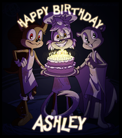 Time to blow out your candles! by kiki-kit