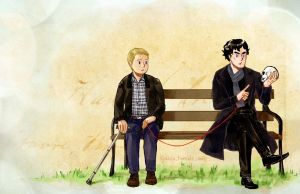 johnlock_Red String of Fate by krusca