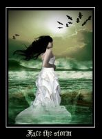 Face the storm by AnnFrost