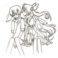 Untitled couple uncolored by Fara4X3