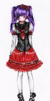 Tartan Sailor Punk Lolita by HiroPonLover
