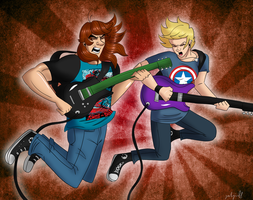 X-Mas Gift: READY TO RAWK by geekgirl8