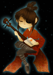 Kubo and the Three Strings by HezuNeutral