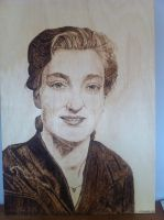 portrait of my Nan, rest in peace x by LUKAS-87