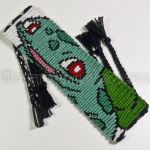 Bulbasaur 1.5 inch Friendship Bracelet by CarrieBea