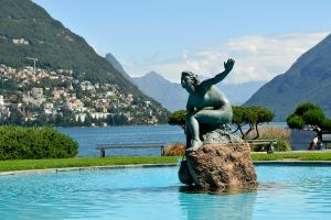 Lugano mermaid 1 by wildplaces