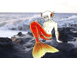 Merman 3 by LedyRaven