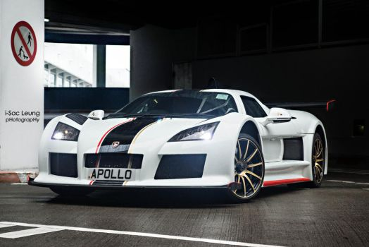 Only for Gods and no human - Gumpert Apollo by IssacLPH