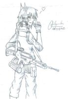 Soldier with HK G36 by PanzerElites