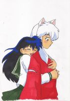 Inu and Kagome by FurryWorld101