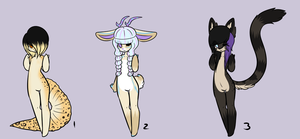 Auction adopts - CLOSED by Nubliinq