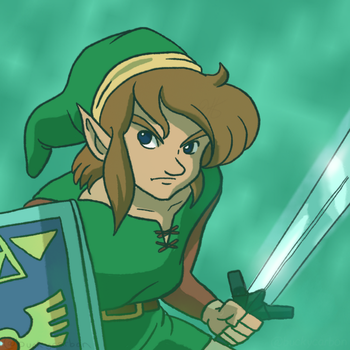 #ZeldaChallenge - Link from Link's Awakening by InAmberClad