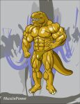 T-rex grin cell shading by MusclePower