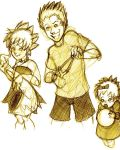 The Simpson Kids, YAY by MsCashew