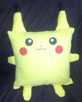 Pika-Pillow by SowCrazy