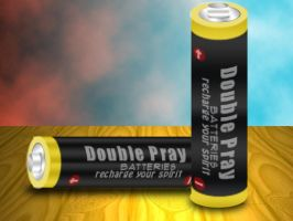 Double Pray batteries by rangerkom