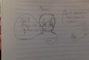 Razor DOES have eyes!...well...eye by Sh4meless