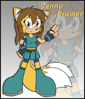 Gift: Jenny Prower by DragonQuestHero