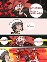 candela/flannery tsundere by MTR78