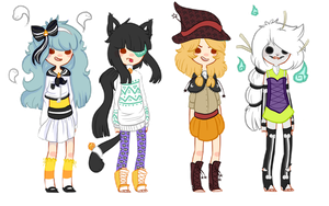 Halloween Adopts {CLOSED} by Mysteryy-Adopts