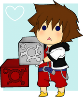 re:coded sora by redzombiereboot