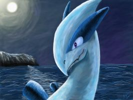 Pokemon: Lugia, Lord of the Sea by chocolatetater-tot
