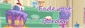 Fade Out Border by edithnyt