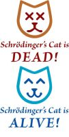 Schrodinger's Cat Tshirt by jalterixnar