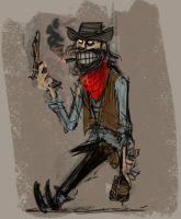 crazzy cowboy by jesseaclin