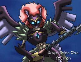 Blackwing - Armed Wing by Dragon-Celtic-Chan