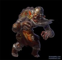 shaman orc undead by texahol