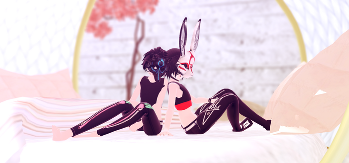 MMD Spirits { nicky and lenny } by Lenny-Kei