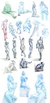 spring figure drawing dump by unbadger