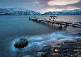 Old pier by KennethSolfjeld