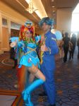 Rainbow Dash + Soarin at Katsucon 19 by waja-redeemer