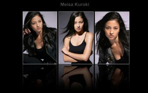 Meisa Kuroki wallpaper 1 by Balhirath