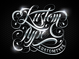 Kustom Type by Kustomtype by roberlan