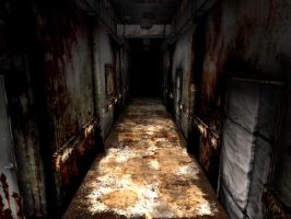 Silent Hill 2 Hospital by ParRafahell