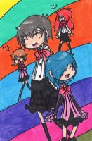 Men in Skirts by persona-3-fanclub