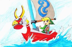 Wind Waker Link by uniqueguy
