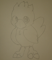 Chocobo :) by SIDNEYG