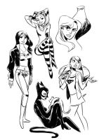 DC girls by edwardgan