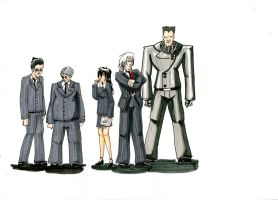 Character Designs - Corp by Firia