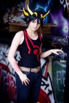Yusei Fudo: Don't look at me. by ShadowFox-Cosplay