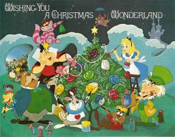 Christmas in Wonderland by WDisneyRP-Alice