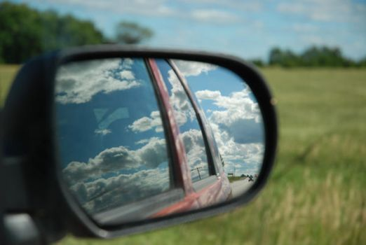 Car Mirror by Rosscota