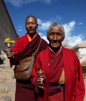 Buddhist monks by Suppi-lu-liuma