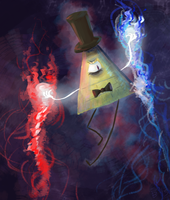 Bill Cipher by Wind-Kitty