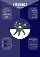 Infographic of Umbreon by Setsuna-sama13