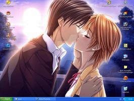 Skip Beat - my desktop by Silver-Nightfox
